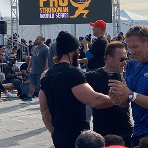 Picture: Arnold Pro Strongman Contest 2020